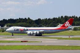 やまモンさんが、成田国際空港で撮影したカーゴルクス 747-8R7F/SCDの航空フォト(飛行機 写真・画像)