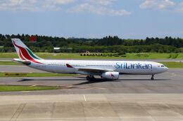 やまモンさんが、成田国際空港で撮影したスリランカ航空 A330-343Eの航空フォト(飛行機 写真・画像)