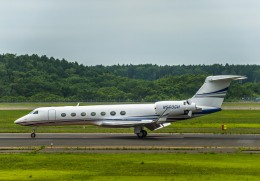 Cygnus00さんが、新千歳空港で撮影したWILMINGTON TRUST CO TRUSTEE G500/G550 (G-V)の航空フォト(飛行機 写真・画像)