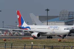 panchiさんが、成田国際空港で撮影したネパール航空 A330-243の航空フォト(飛行機 写真・画像)