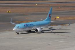 磐城さんが、中部国際空港で撮影した大韓航空 737-8Q8の航空フォト(飛行機 写真・画像)