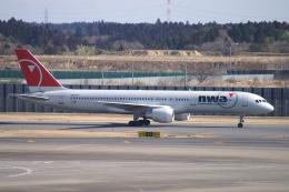 磐城さんが、成田国際空港で撮影したノースウエスト航空 757-251の航空フォト(飛行機 写真・画像)
