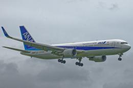いっち〜@RJFMさんが、宮崎空港で撮影した全日空 767-381/ERの航空フォト(飛行機 写真・画像)
