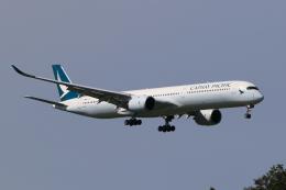 多楽さんが、成田国際空港で撮影したキャセイパシフィック航空 A350-1041の航空フォト(飛行機 写真・画像)