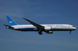 AkilaYさんが、成田国際空港で撮影した厦門航空 787-9の航空フォト(飛行機 写真・画像)