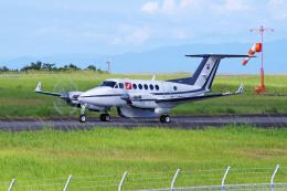 apphgさんが、静岡空港で撮影したフランス企業所有 200 Super King Airの航空フォト(飛行機 写真・画像)
