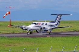 apphgさんが、静岡空港で撮影したフランス企業所有 B200 Super King Airの航空フォト(飛行機 写真・画像)