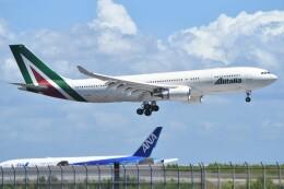 デルタおA330さんが、羽田空港で撮影したアリタリア航空 A330-202の航空フォト(飛行機 写真・画像)