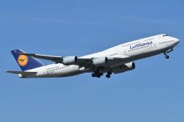 デルタおA330さんが、羽田空港で撮影したルフトハンザドイツ航空 747-830の航空フォト(飛行機 写真・画像)