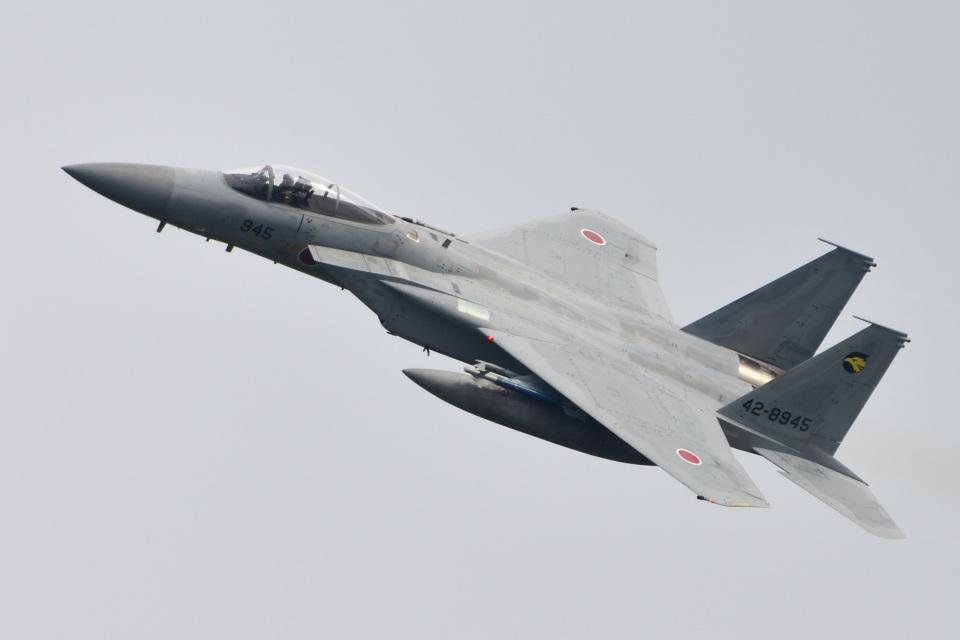 れぐぽよさんの航空自衛隊 Mitsubishi F-15J Eagle (42-8945) 航空フォト