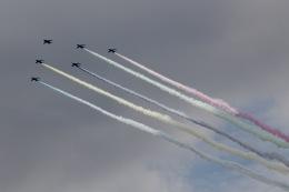 AkiChup0nさんが、新宿御苑で撮影した航空自衛隊 T-4の航空フォト(飛行機 写真・画像)