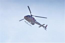 mild lifeさんが、不明で撮影した朝日航洋 AS350B3 Ecureuilの航空フォト(飛行機 写真・画像)