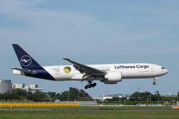 SGR RT 改さんが、成田国際空港で撮影したルフトハンザ・カーゴ 777-Fの航空フォト(飛行機 写真・画像)