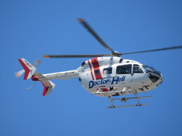 ランチパッドさんが、静岡ヘリポートで撮影したセントラルヘリコプターサービス BK117C-2の航空フォト(飛行機 写真・画像)