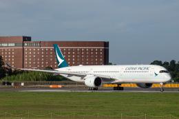 SGR RT 改さんが、成田国際空港で撮影したキャセイパシフィック航空 A350-1041の航空フォト(飛行機 写真・画像)