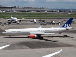 FT51ANさんが、羽田空港で撮影したスカンジナビア航空 A330-343Xの航空フォト(飛行機 写真・画像)
