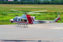 hidetsuguさんが、札幌飛行場で撮影した朝日航洋 412の航空フォト(飛行機 写真・画像)