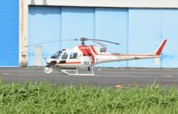ヘリオスさんが、東京ヘリポートで撮影した朝日航洋 AS350B3 Ecureuilの航空フォト(飛行機 写真・画像)
