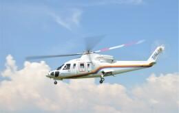 ヘリオスさんが、東京ヘリポートで撮影した東邦航空 S-76C+の航空フォト(飛行機 写真・画像)