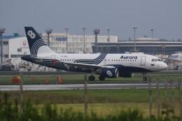 airdrugさんが、成田国際空港で撮影したオーロラ A319-111の航空フォト(飛行機 写真・画像)