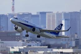 A350XWB-HNDさんが、羽田空港で撮影した全日空 A320-271Nの航空フォト(飛行機 写真・画像)