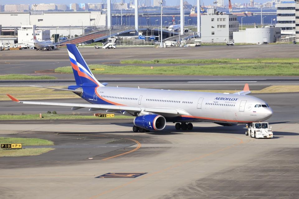 A350XWB-HNDさんのアエロフロート・ロシア航空 Airbus A330-300 (VQ-BNS) 航空フォト