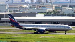 誘喜さんが、羽田空港で撮影したアエロフロート・ロシア航空 A330-343Xの航空フォト(飛行機 写真・画像)