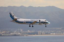 TAKAHIDEさんが、関西国際空港で撮影した海上保安庁 340B/Plus SAR-200の航空フォト(飛行機 写真・画像)