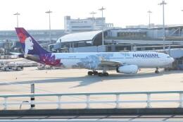 青春の1ページさんが、関西国際空港で撮影したハワイアン航空 A330-243の航空フォト(飛行機 写真・画像)