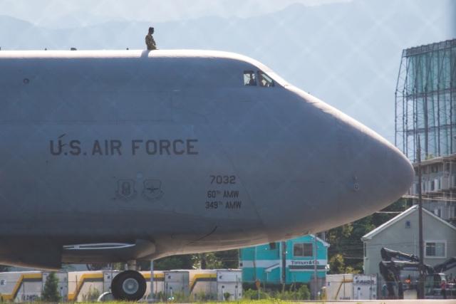 たーぼーさんが、横田基地で撮影したアメリカ空軍 C-5M Super Galaxyの航空フォト(飛行機 写真・画像)