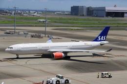 スポット110さんが、羽田空港で撮影したスカンジナビア航空 A330-343Xの航空フォト(飛行機 写真・画像)