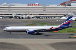 スポット110さんが、羽田空港で撮影したアエロフロート・ロシア航空 A330-343Xの航空フォト(飛行機 写真・画像)