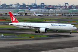 Delta Gensouさんが、羽田空港で撮影したターキッシュ・エアラインズ 777-3F2/ERの航空フォト(飛行機 写真・画像)