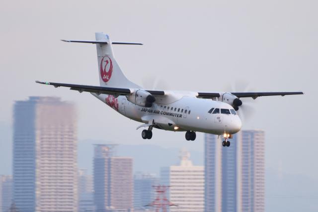 航空フォト:JA01JC 日本エアコミューター ATR 42