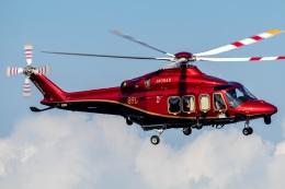 T spotterさんが、東京ヘリポートで撮影した日本法人所有 AW139の航空フォト(飛行機 写真・画像)