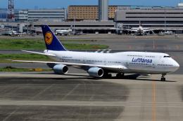 Delta Gensouさんが、羽田空港で撮影したルフトハンザドイツ航空 747-830の航空フォト(飛行機 写真・画像)