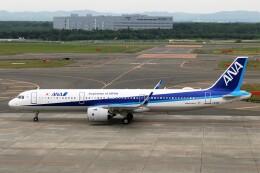 にしやんさんが、新千歳空港で撮影した全日空 A321-272Nの航空フォト(飛行機 写真・画像)