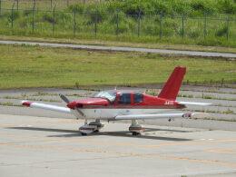 musaeru25cさんが、能登空港で撮影した日本個人所有 TB-10 Tobagoの航空フォト(飛行機 写真・画像)