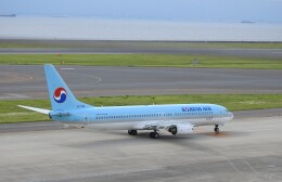 musaeru25cさんが、中部国際空港で撮影した大韓航空 737-9B5の航空フォト(飛行機 写真・画像)