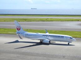 musaeru25cさんが、中部国際空港で撮影した日本トランスオーシャン航空 737-8Q3の航空フォト(飛行機 写真・画像)