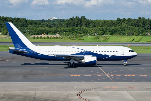 goshiさんが、成田国際空港で撮影したコムルックス・アルバ 767-2DX/ERの航空フォト(飛行機 写真・画像)