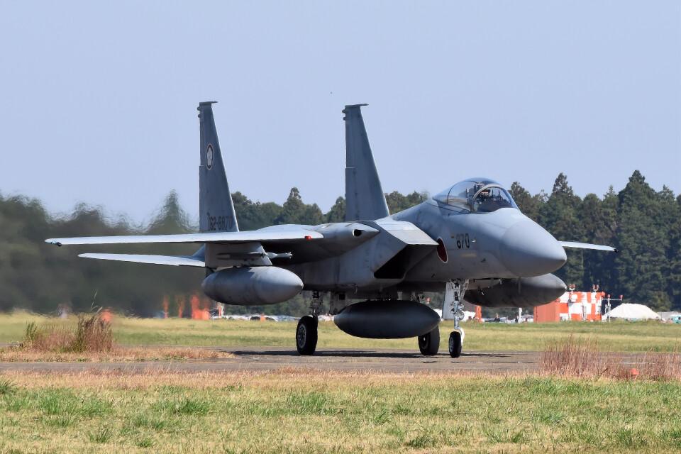 woodpeckerさんの航空自衛隊 Mitsubishi F-15J Eagle (62-8870) 航空フォト