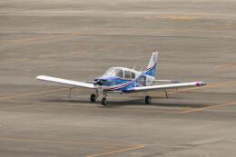 KKiSMさんが、名古屋飛行場で撮影した日本個人所有 PA-28-140 Cherokeeの航空フォト(飛行機 写真・画像)