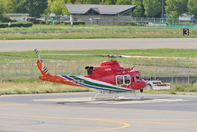 KKiSMさんが、松本空港で撮影した長野県消防防災航空隊 412EPIの航空フォト(飛行機 写真・画像)