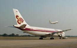 hs-tgjさんが、ドンムアン空港で撮影したタイ国際航空 A300B4-601の航空フォト(飛行機 写真・画像)
