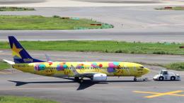 誘喜さんが、羽田空港で撮影したスカイマーク 737-8ALの航空フォト(飛行機 写真・画像)