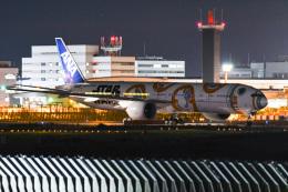 あっくんkczさんが、成田国際空港で撮影した全日空 777-381/ERの航空フォト(飛行機 写真・画像)