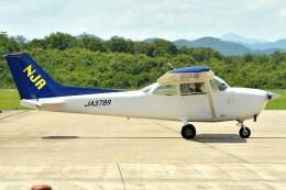 デデゴンさんが、石見空港で撮影した新日本航空 172N Ramの航空フォト(飛行機 写真・画像)