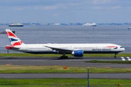 あっくんkczさんが、羽田空港で撮影したブリティッシュ・エアウェイズ 777-336/ERの航空フォト(飛行機 写真・画像)