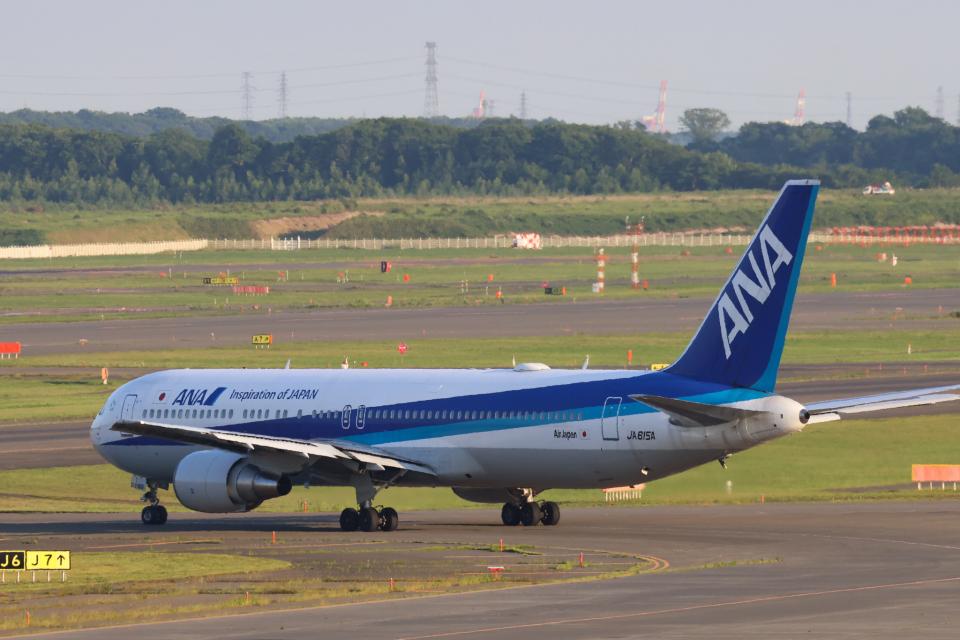 North1973さんの全日空 Boeing 767-300 (JA615A) 航空フォト